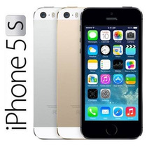 Apple Iphone 5s 64gb 4g Lte Touch Id Chip A7 Desbloqueado