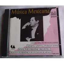 H Szeryng / Enrique Batiz Musica Mexicana Orq Filarm Cd 1992