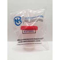 Vaso Muestra Clinico Laboratorio Esteril De Plastico
