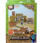 Minecraft - Shelter Papercraft Set