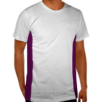 Playera Deportiva Para Sublimar Dry Fit 100% Poliester Ndd