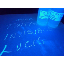 Tinta Invisible Profesional Base Alcohol Lucis Glow Rm4