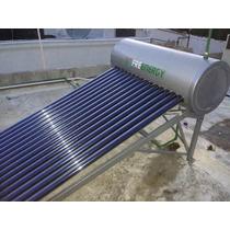 150 Lt Calentador Solar 15 Tubos Vidrio