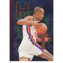 1995-96 Hoops Hot List Grant Hill Pistons