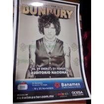 Poster De Coleccion Gira Palo Santo Bunbury. Nuevo!!!
