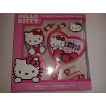 Kit Para Cabello De Hello Kitty! Nuevo, Oferta