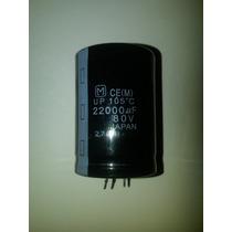 Capacitor Electrolítico De 22,000uf/80v 105°c