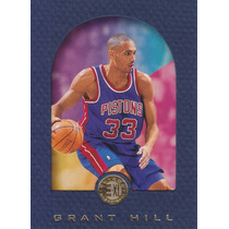 1995-96 E-xl Blue Grant Hill Pistons