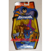 Metal Gold Men Snap & Attack Batman Brave And The Bold