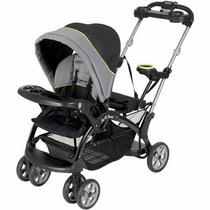 Carreola Baby Trend Doble Pegable C Portavasos Pistachio