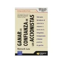 Libro Ganar La Confianza De Los Accionistas *cj