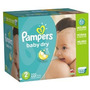Pampers Baby Dry Pañales Economía Paquete Más El Tamaño De 2