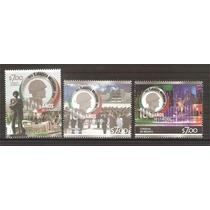 2013 Centenario Del Ejército Mexicano 3 Sellos Nuevos