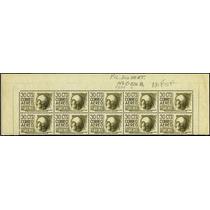 0897 México 4° A E Cuauhtemoc Tira 10 S Mint N H 1955