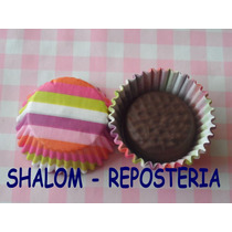 *capacillos Chicos Mini Mamut Mod 6, Cupcake Minnie Fondant*