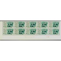 0896 México 11° E # Control D M Luna Tira 10 S Mint N H 1974
