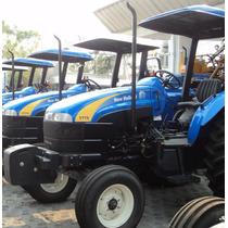 Tractor Agrícola New Holland Tt75 Tracción Sencilla Y Doble