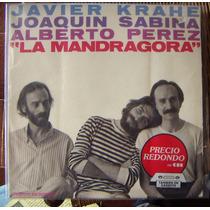 Cantautor, Joaquin Sabina, La Mandragora, Lp 12´, Rm4