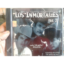 Cd Lalo El Gallo Elizalde Chalino Sanchez Valentin 100% New