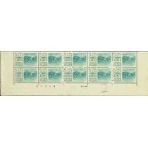 0893 México 4° E # Control Acapulco Tira 10 S Mint N H 1956