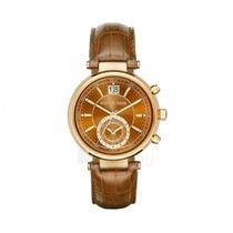 Reloj Michel Kors Dama Marrón Mk 2425 Ambar Envío Gratis
