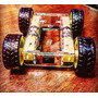 Chasis Carrito Robot Para Arduino/pic ¡diseño Unico!