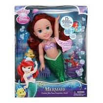 Muñeca Disney Princesa Ariel Sirenita Canta