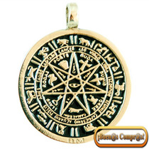 Pentagrama Zodiacal, Hecho En 7 Metales.