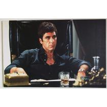 Cuadro, Poster Scarface Impresion En Canvas 70 X 47 Cm