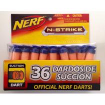 144 Dardos Nerf Succion Silbantes Tag Hasbro Nuevos Niños