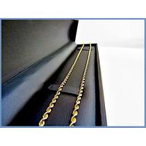 Cadena Oro Amarillo Solido 10k Mod. Torzal 3mm 15.7grs Acc