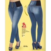 Pantalones De Mezclilla Colombianos Sexy A La Moda Casuales