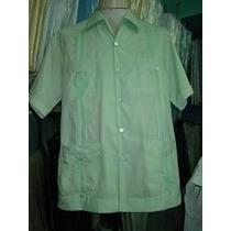 Camisas Guayaberas Algodon Poliester