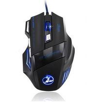 Mouse Gamer 7 Botones 3200 Dpi Led Optico Usb Profesional
