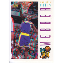 1993-94 Upper Deck 3d Rookie Chris Webber Warriors