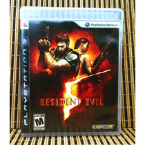 Resident Evil 5 - Ps3 Aventura Survival Horror - Capcom