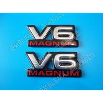 Emblemas Dodge V6 Magnum Dakota Durango Ram Charger