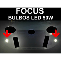 Ford Focus Faros De Niebla Antiniebla Bulbos Led Blancos