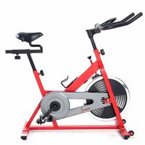 Bicicleta Fija Ejercicio Spinning Roja De Sunny Estacionaria