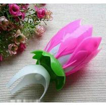 Vela Mágica Musical En Forma De Flor