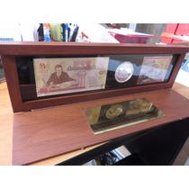 Moneda Set 75 Aniversario Banco De Mexico 2 Onzas Plata