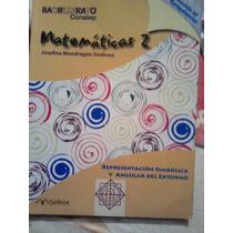 Matematicas 2, Josefina Mondragon, Bachillerato Conalep