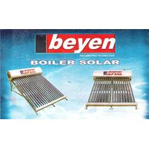 Boiler/ Solar Marca Beyen 12 Tubos 144 Litros 4.5 Personas