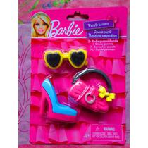Set De Borradores De Barbie De Zapatilla Lentes Y Mas