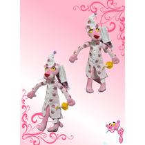 Pantera Rosa Con Pijama Peluche