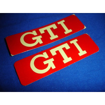 Calcomanias Emblemas Laterales Gti, Mk2