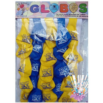 Globos Fiesta 25 Pzas Minions Plantas Vs Zombie Monster High