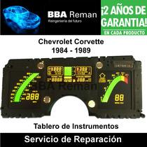 Chevrolet Corvette 1984 89 Tablero Instrumentos Reparación