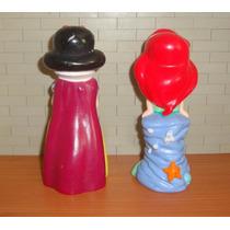 Blancanieves Y La Sirenita Lote De 2 Figuras De Disney