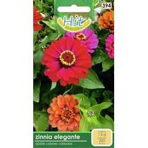 1 Sobre De Semilla Flor Zinnia Elegante,doble Colores